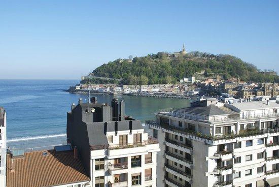 Tryp San Sebastian Orly Hotel : Million dollar view!