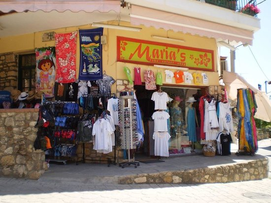 "Afitos, Greece: Maria's ""The Corner shop"""