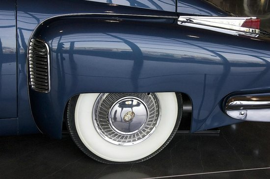 LeMay - America's Car Museum: Detail of the legendary Tucker (c 1946)