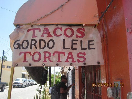 Gordo Lele's Tacos & Tortas: Entrance to Gordo's