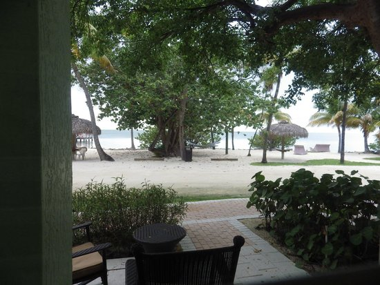 Lime Tree Bay Resort: View from our room 112