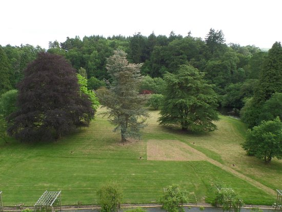 Caer Beris Manor Hotel: View from our room (the Swansea suite)