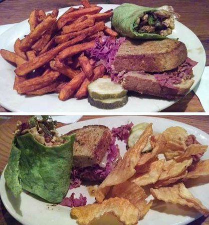 Bogart S Restaurant Tavern Picture Of Reuben And Wrap At In Waynesville