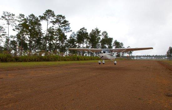 Hidden Valley Inn : Hidden Valley's Private Airstrip