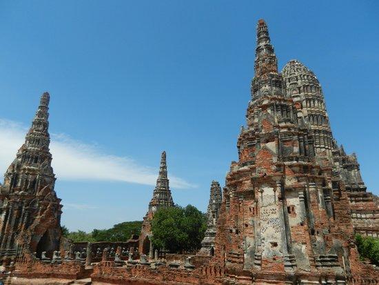 Wat Chaiwatthanaram : Vue du site