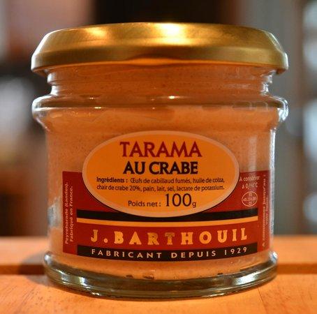 Epicuria Saveurs & Traditions : Tarama au crabe Barthouil peyrehorade