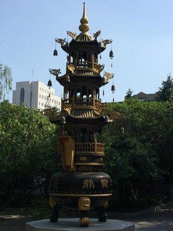 Temple of Bliss (Jile Si) : Pagoda