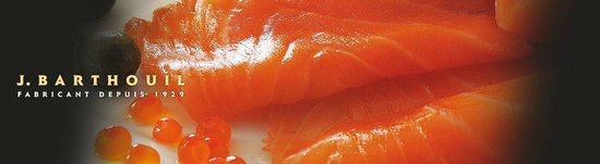 Epicuria Saveurs & Traditions : Saumon fumé barthouil