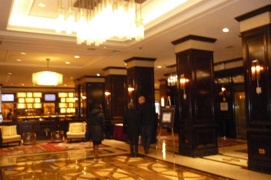 New York Marriott East Side: lobby