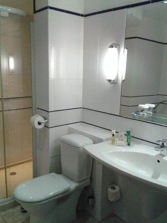 Hilton Cardiff: Bathroom/Shower