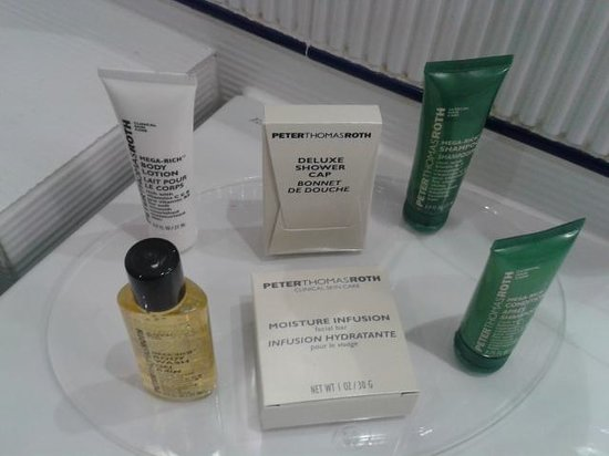 Hilton Cardiff: Toiletries