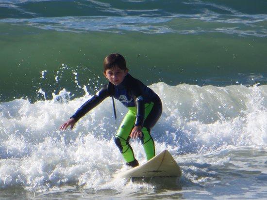 Son Surf School: Surfing