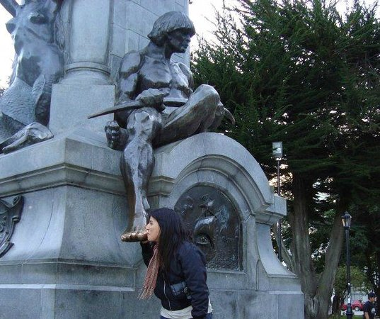 Memorial to Ferdinand Magellan: Dedo de indio patagón