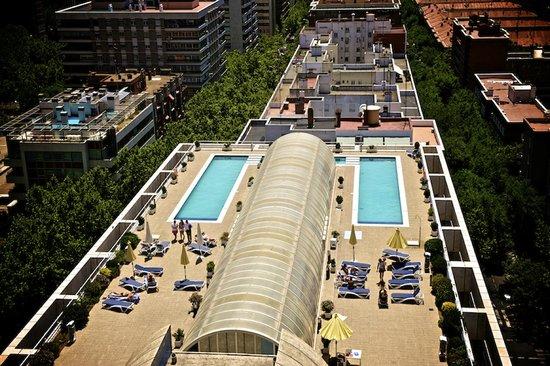 Sercotel Apartamentos Eurobuilding 2: vista panoramica
