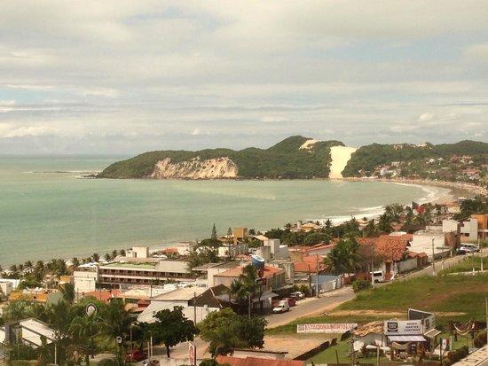 Best Western Premier Majestic Ponta Negra Beach: Vista do aparamento.. morro do careca