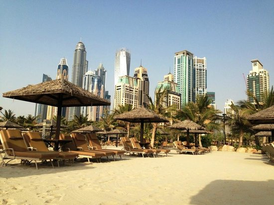 Le Royal Meridien Beach Resort & Spa: View from the beach