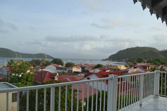 Residence Anse Caraibe: vue depuis la terrasse