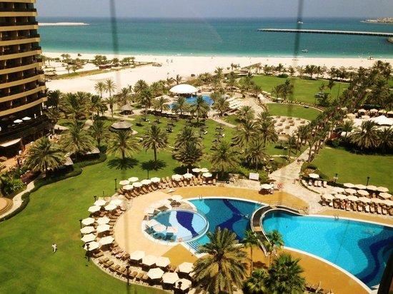 Le Royal Meridien Beach Resort & Spa: View from panoramic elevator