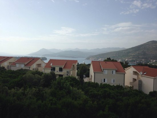 Villa Antea: View from 2 bedroom apartment.