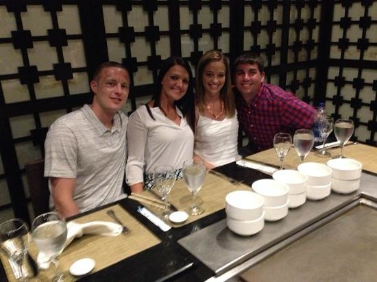 Majestic Elegance Punta Cana: Great time at the hibachi grill (went three times!)