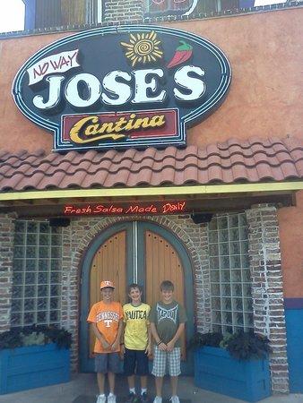No Way Jose's Cantina : Yes way.