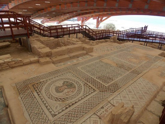 Kourion (Curium): mosaic
