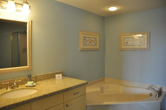 Bluewater Resort and Marina : bathroom