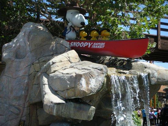 Knott's Berry Farm: I like Snoopy.