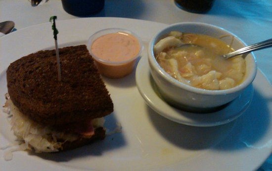 Roosters: Reuben and Soup