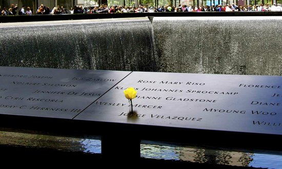 The National 9/11 Memorial & Museum: The fountains