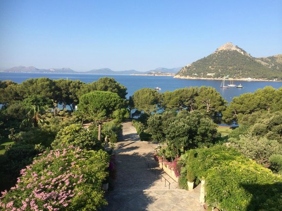 Formentor, a Royal Hideaway Hotel: Original grand entrance from the sea