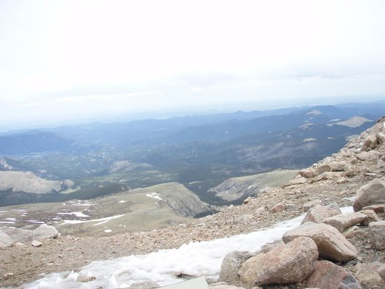 Mount Evans : View from near the top