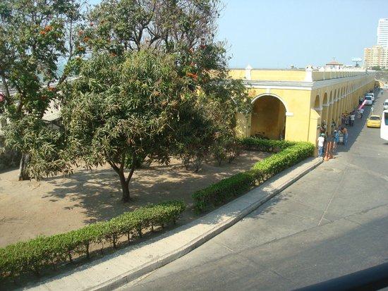 Bovedas de Santa Clara Hotel Boutique: Vista do Quarto