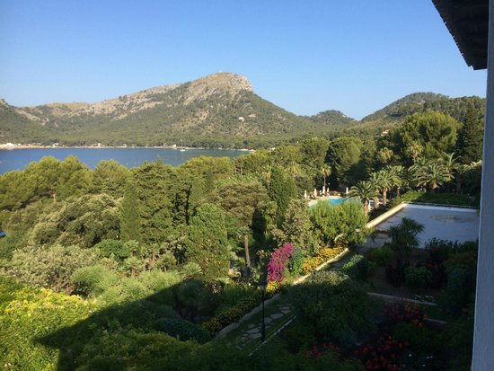 Formentor, a Royal Hideaway Hotel: View over grounds from room