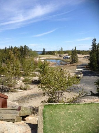 Yellowknife Golf Club: Yellowknife Golfing - one of the holes
