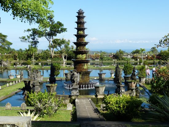Tirta Gangga Fountain