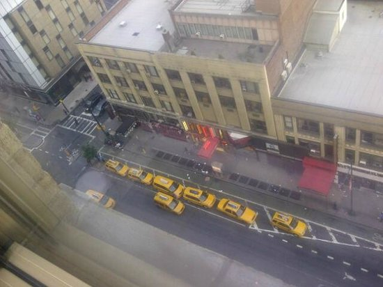 Row NYC Hotel : view from the room