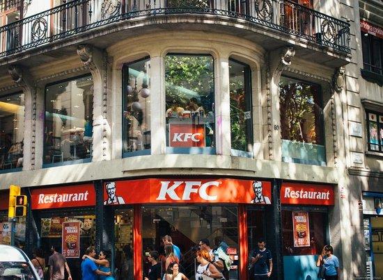 Las Ramblas: KFC
