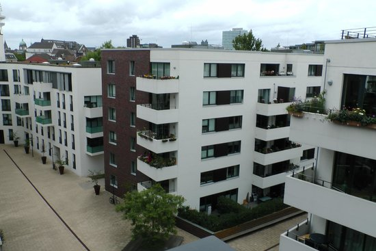 Adina Apartment Hotel Hamburg Michel: Aussicht