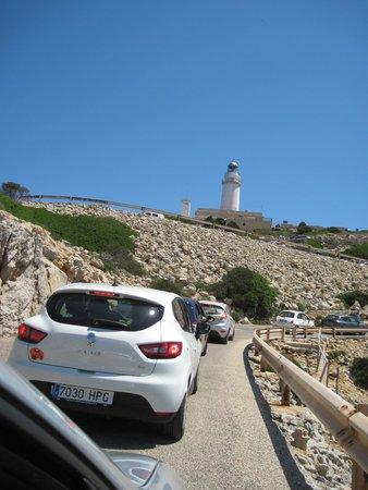 Cap de Formentor: Дорога на Форментор