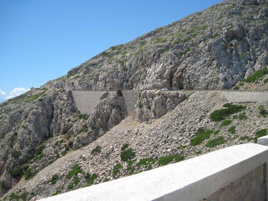 Cap de Formentor: Обрывистая дорога