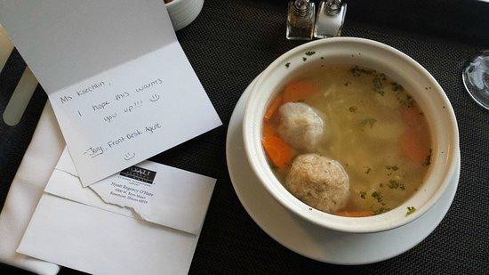 Hyatt Regency O'Hare: Thank you Jory from the front desk, for your thoughtfullness!