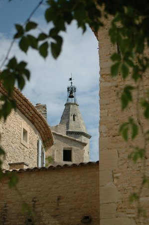 Hotel Crillon le Brave: Bell tower