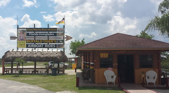 Buffalo Tiger's Airboat Tours: Buffalo Tiger's