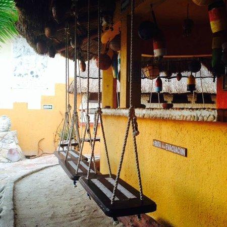 Villa La Bella: Swing bar?  Yes please