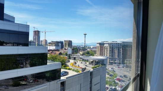 SpringHill Suites Seattle Downtown/South Lake Union: View from the 9th floor