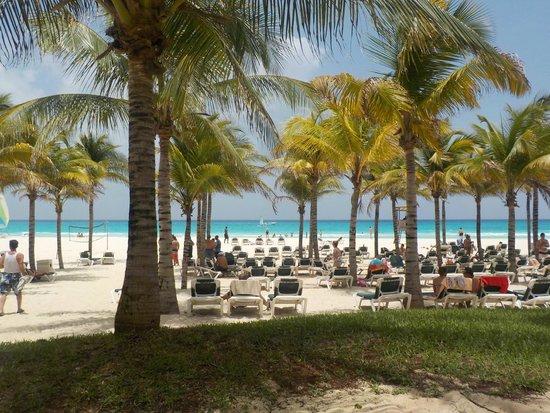 Hotel Riu Playacar: beach