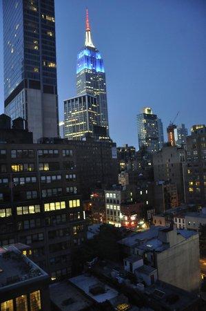 Fairfield Inn & Suites New York Manhattan/Chelsea: Utsikt från 15:e våningen.