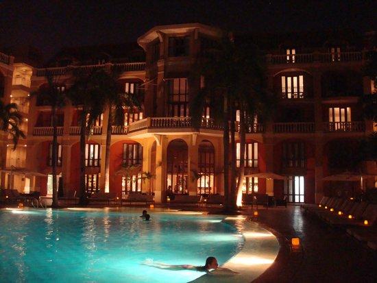 Bovedas de Santa Clara Hotel Boutique : Área da piscina do Hotel Sofitel Santa Clara (conveniado)