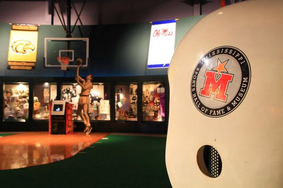 Mississippi Sports Hall of Fame: Interactive kiosks bring the Hall of Famers & their stories to life.